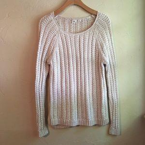 GAP : cream sweater
